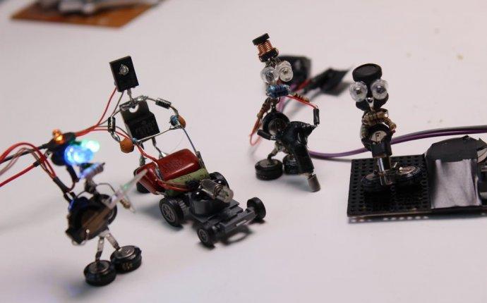 Электронные игрушки своими руками