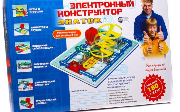 Электронный конструктор, Знаток ( схем) — Интернет-магазин