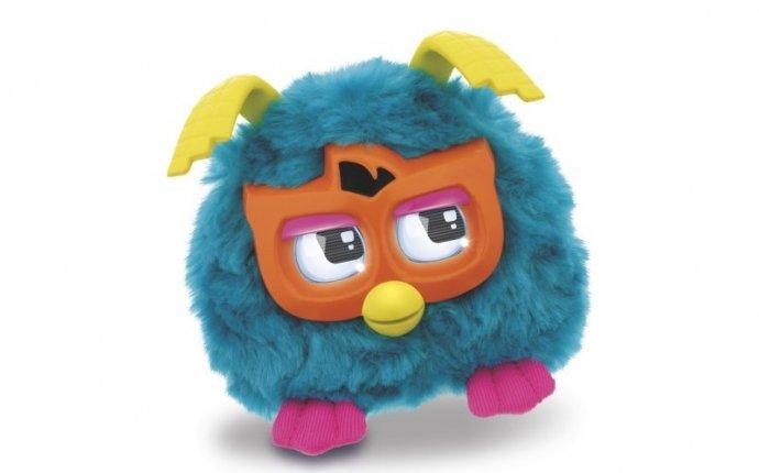 Furby. Ферби мини Друзья Ферби голубой с оранжевым - Furby - Ферби