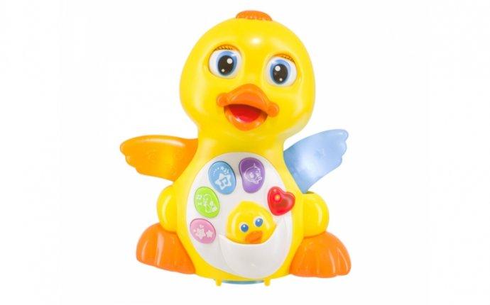 Игрушка интерактивная Happy Baby, Quacky - купить в детском