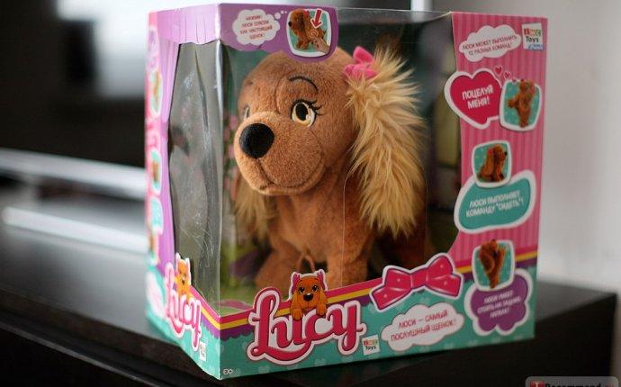IMC TOYS Интерактивная мягкая игрушка собачка Lucy (Люси) - «Для