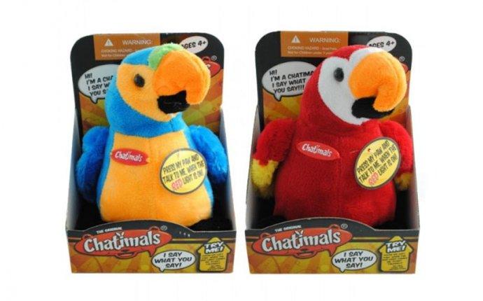 Интерактивная игрушка chatimals попугай повторюшка