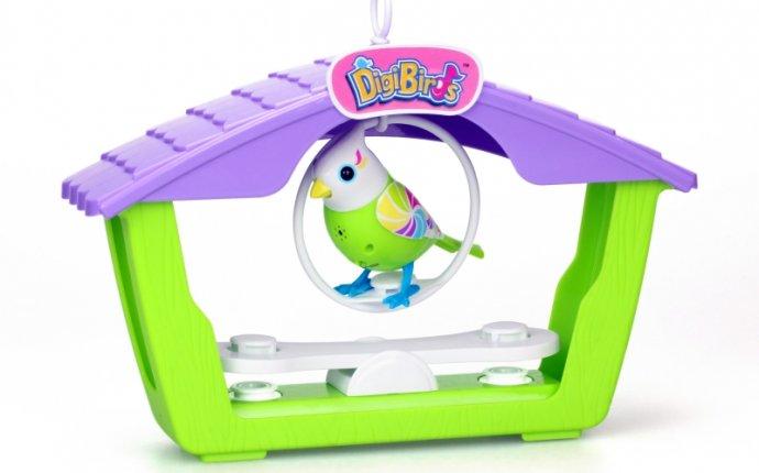 Интерактивная игрушка digibirds птичка с домиком | shillingpub