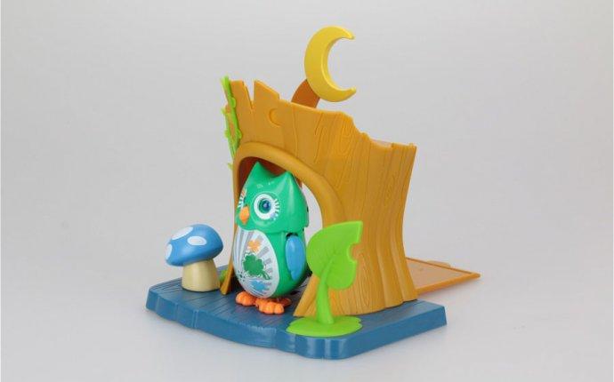 Интерактивная игрушка DigiOwls Сова с домиком (свет, звук