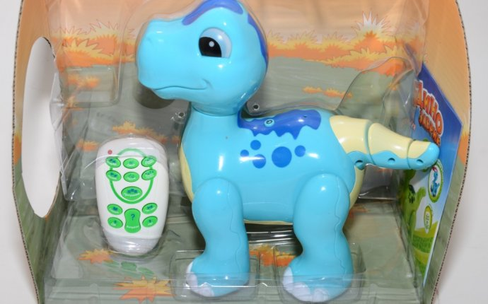 Интерактивная игрушка Динозаврик на пульте TONGDE T46-D 513/05