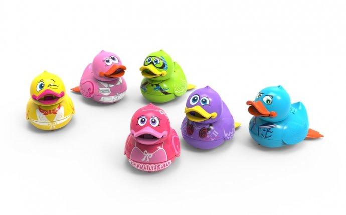 Интерактивная игрушка для ванны Аква Утенок (поет, плавает) 88447