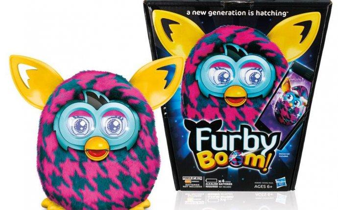 Интерактивная игрушка Фёрби Бум Теплая волна - Пурпурная Лапка