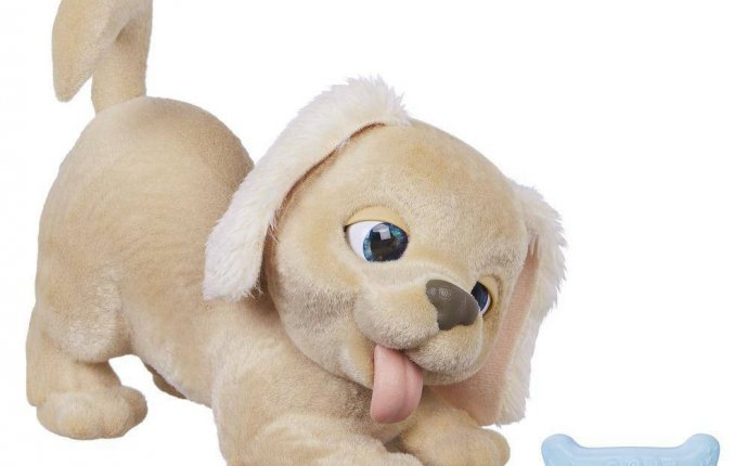 Интерактивная игрушка hasbro furreal friends пушистый друг щенок