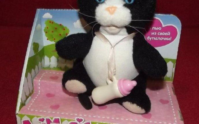 Интерактивная игрушка котенок Тишка — 500 руб. — Игрушки — Майское