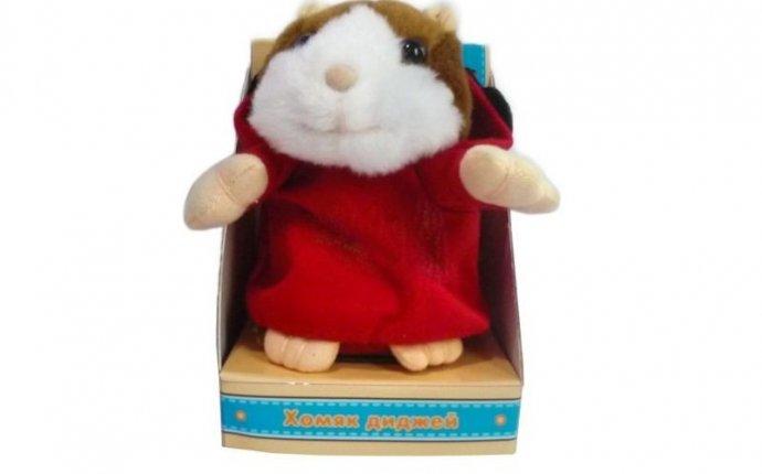 Интерактивная игрушка Повторюшка - Хомяк диджей 681016 Fluffy