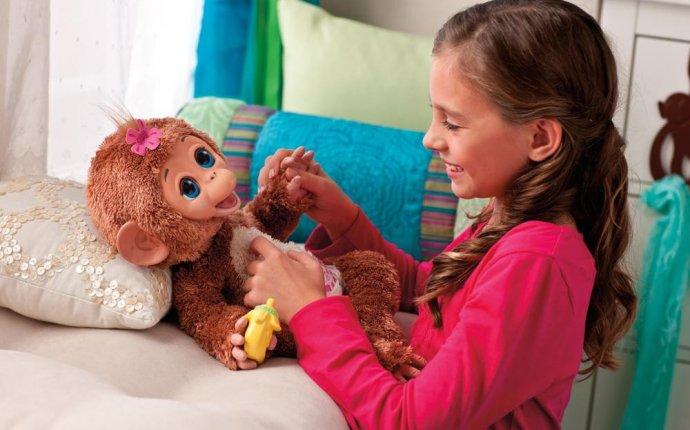Интерактивная игрушка Смешливая обезьянка от Hasbro : продажа