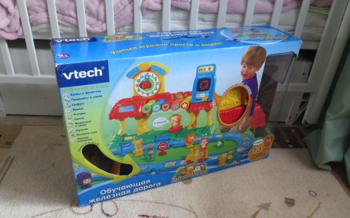 Интерактивная игрушка VTECH Железная дорога 80-069626 — купить в