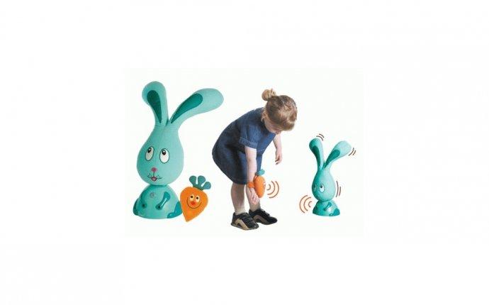 интерактивная игрушка заяц бани — For kids