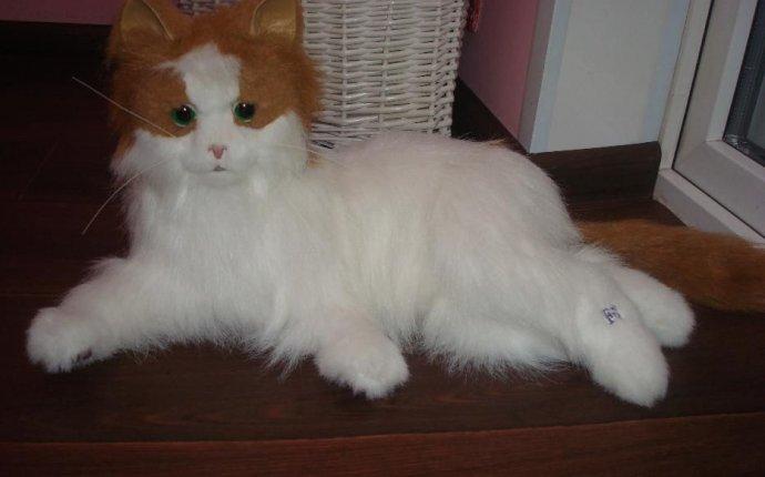 Интерактивная лежачая кошка Лулу Furreal Friends от Hasbro: 850