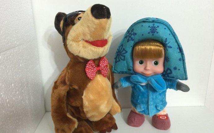 Интернет-магазин Мягкая Кукла Маша и Мишка Интерактивные Игрушки