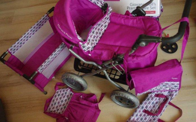 Коляска для куклы Mamas&Papas Giovane Doll s Pram&Care Set 4в1