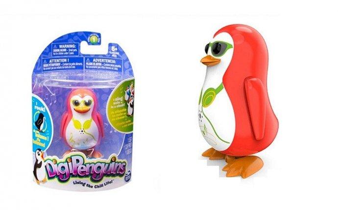 Купить интерактивную игрушку DigiBirds Пингвин с кольцом (88-2