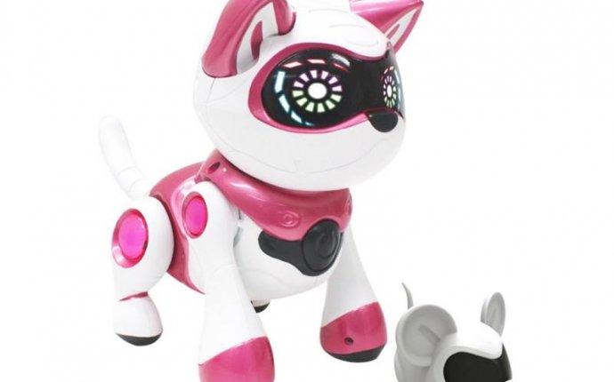 Купить Интерактивную игрушку Кошка Teksta Kitty от Manley Toys (36901)