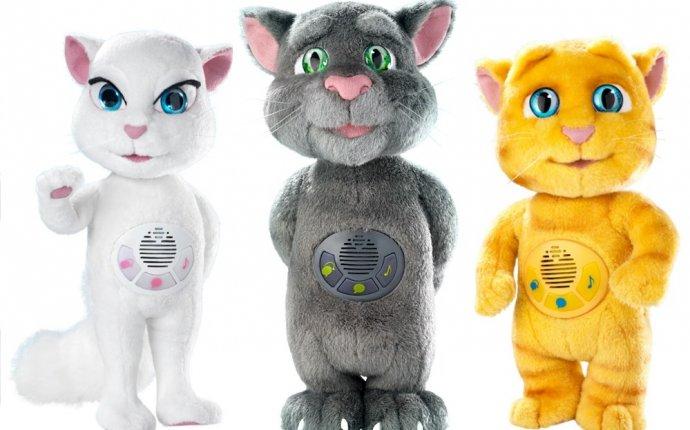 Купить набор из трех говорящих котов: Тома, Анжелу и Джинжер
