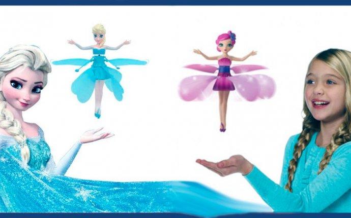 Летающая кукла фея Flying Fairy Эльза Холодное Сердце Frozen: 269