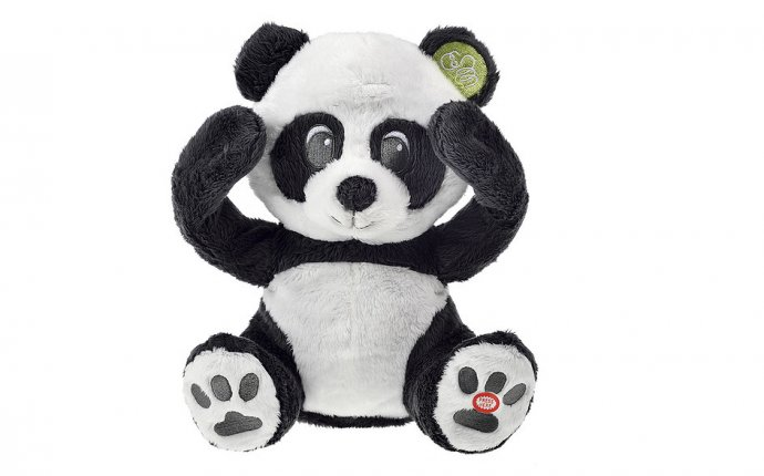 Плюшевая игрушка Piou Piou ПАНДА Большая PHPBB. Купить Плюшевая