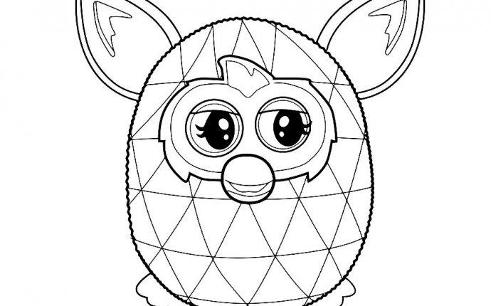 Раскраски для фёрби бум играть - Игра Ферби Бум раскраска онлайн
